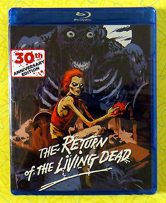 Return of the Living Dead 30th Anniversary Edition ~ New Blu-Ray Movie ~ Zombie