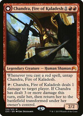 Chandra, Fire of Kaladesh / Chandra, Roaring Flame Magic Origins PLD-SP ABUGames