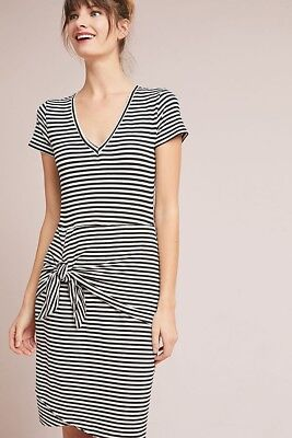 3cf22f758911d ANTHROPOLOGIE DOLAN LEFT Coast Collection Womens Size S Striped Tie ...