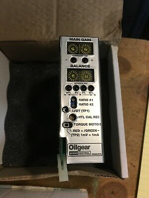 Oilgear Servo Amplifier Module tested