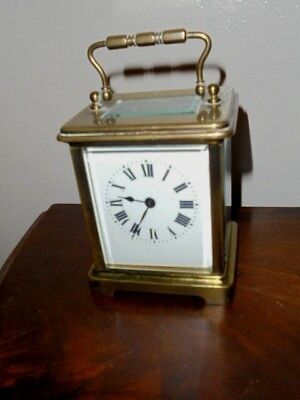 victorian / edwardian  carriage clock