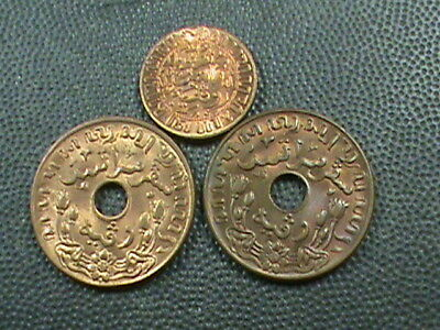 KM314.2 Netherlands East Indies 1945 1//2 Cent Uncirculated