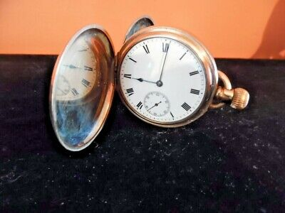 gold filled masonic inscribed  pocket watch