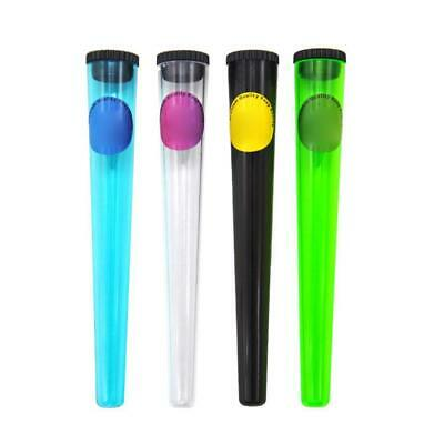 1 X Plastic King Size Doob Tube Vial Waterproof Airtight Smell Proof