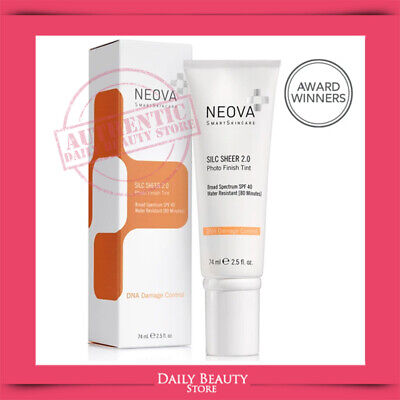 Neova DNA Damage Control Silc Sheer 2.0  SPF 40 74ml 2.5oz BRAND NEW FAST SHIP