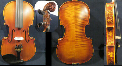 Strad style  SONG maestro 4/4 violin,caved rib and neck,powerful sound #13979