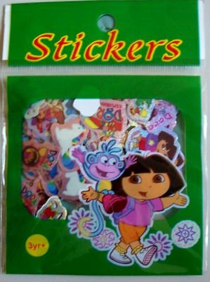 ca. 100 Glitzersticker Dora