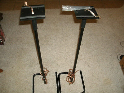 Bell'Oggetti Speaker Stands- High Quality - Excellent Condition