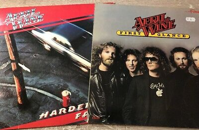 April Wine ‎First Glance + April Wine ‎Harder Faster Vinyl 2LP Capitol