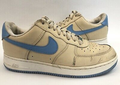 buy popular f0cd0 e1f0c Nike Air Force XXV AF-1 82 Blue Cream Sneakers Shoes Mens 7.5 Eur
