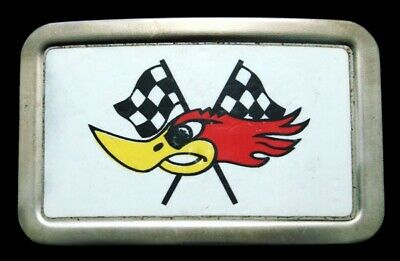 RD16124 GREAT VINTAGE 1970s ***THRUSH*** COMPETITION EXHAUST DRAG RACING BUCKLE