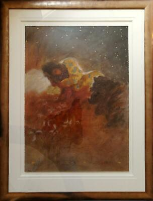 Roy Fairchild-Woodward, Signed Limited Edition Serigraph Print - Midsummer Story