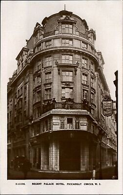 RPPC Regent Palace Hotel Piccadilly Circus London UK Kingsway Photo Series