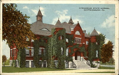 State Normal School gymnasium~Shippensburg PA ~1920 to ETHEL WINTRODE Hanover