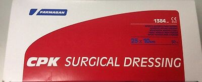 CPK SURGICAL DRESSING 25x10cm 48 UNIDADES FARMABAN