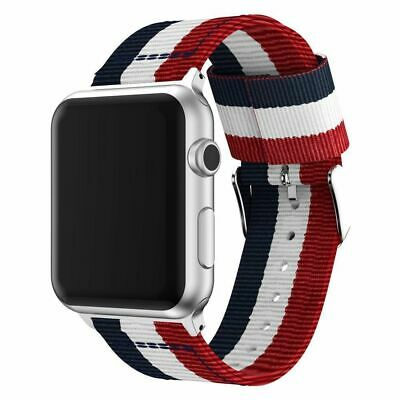 Apple Watch Replacement Band Woven Nylon Bracelet For iWatch Series 4 3 2 1