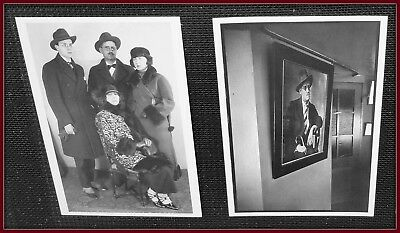 JAMES JOYCE - Set of 2 photo post cards - New, vintage B&W photos. Out of print.