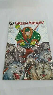 AWESOME Comic Book GREEN ARROW Jan 1988. A Must See!