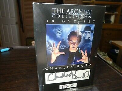 Full Moon 18  disc  dvd set signed and numbered by Charles Band sealed