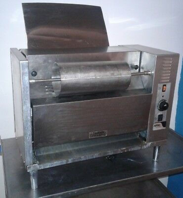 APW Wyott M-83 Electric Countertop Bun Grill Conveyor Toaster