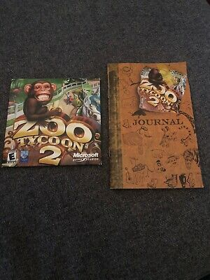 ZOO TYCOON 2 AFRICAN ADVENTURE Add-On Expansion Pack Pc Cd