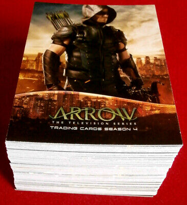 ARROW - Season 4 - Complete Base Set (72 trading cards) - Cryptozoic 2017