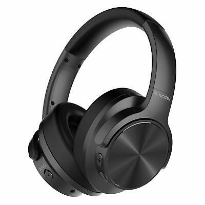 Active Noise Cancelling Headphones Mixcder E9 Wireless Bluetooth Headphones w...