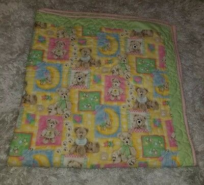 personalized baby girl blanket ~ Embroidered Baby girl blanket Sweet Dreams