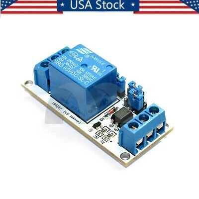 5V 1 Channel Relay Module With OPTO Isolation High And Low Level Trigger US