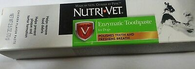 Nutri Vet Enzymatic Toothpaste for Dogs (Chicken Flavored)