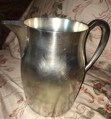 The Sheffield Silver CO A Reed & Barton CO MADE IN U.S.A. Water Pitcher
