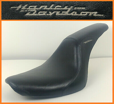 Harley Davidson OEM RDW-92/61-0067 Black Leather Touring Motorcycle Seat Saddle