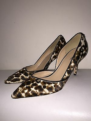 6cace0586c9e New JCrew Collection Colette calfhair dOrsay pumps shoes  378 E0776 Sz 8