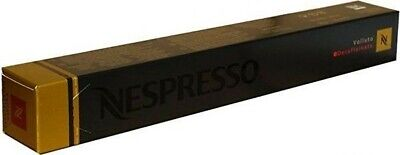 10 Capsules Nespresso Original Volluto Decaffeinato (10 Count in Sleeve).