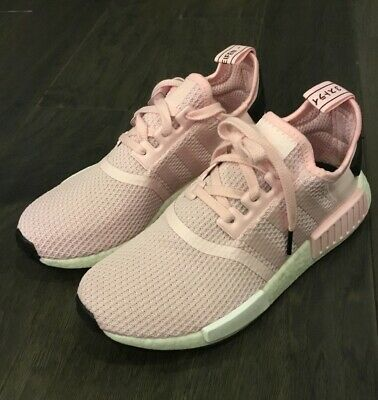 0023ee33066d7 Women s Adidas NMD R1 W Shoes Sneakers B37648 Size 7.5 Pink Boost New Rare