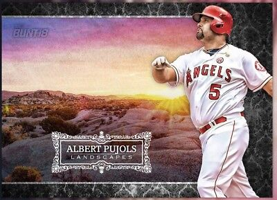 2018 LANDSCAPES AMERICAN LEAGUE ALBERT PUJOLS Topps Bunt Digital Card