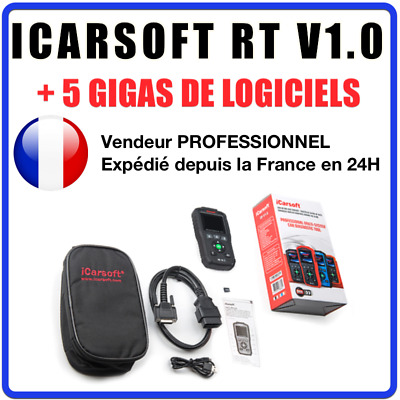 Valise Diagnostic Auto Pro iCarsoft RT V1.0 Renault / Dacia - CAN CLIP DIALOGYS