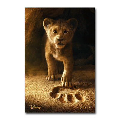 The Lion King Movie Art Canvas Poster 12x18 24x36 inch