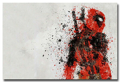 Deadpool Hero Comic Movie Art Silk Poster Pictures 13x20 24x36 inches 009