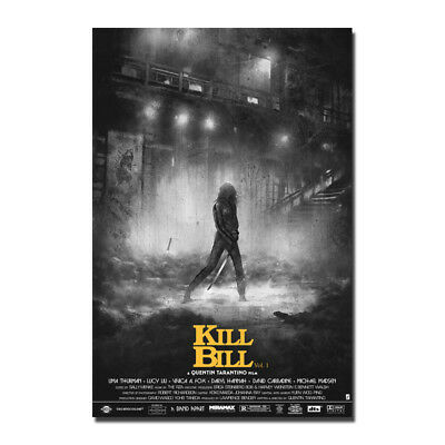 Kill Bill Classic Movie Canvas Posters Art Prints Pictures 8x12 24x36 inch