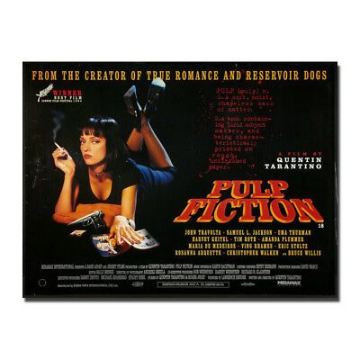 Pulp Fiction 1994 Classic Film Movie Canvas Poster 8x11 24x32 inch