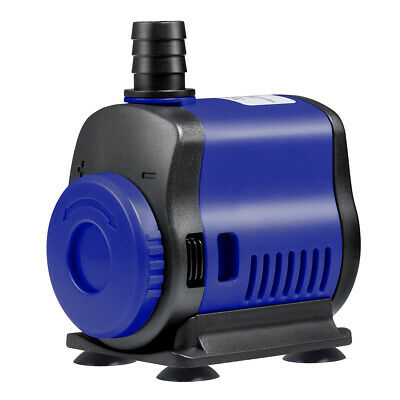 14W Pompe à Eau Submersible Aquarium Poisson Bassin Étang Fontaine Filtrage Pump