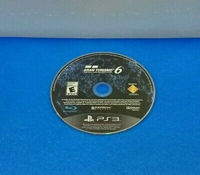 Juego Sony Playstation 3 Ps3 Solo Disco - Gran Turismo 6 Gt6