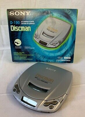 Sony D-190 portable CD Player, Discman