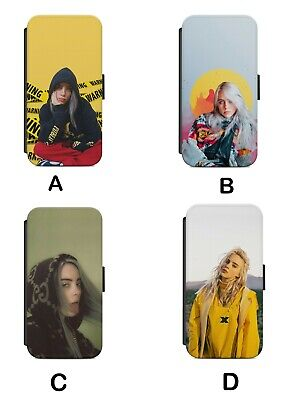 Cute Billie Eilish American Beautiful singer Flip Cover for iPhone and Samsung