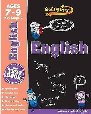 Gold Stars KS2 Age 7-9 English (Gold Stars Ks2 Workbooks), Gold Stars, Very Good