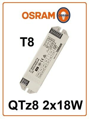 Electronic ballast QTz8 2x18W OSRAM tube fluorescent 2x 16W 18W light NEW