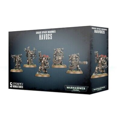 Chaos Space Marines Havocs Games Workshop Warhammer 40,000 Brand New