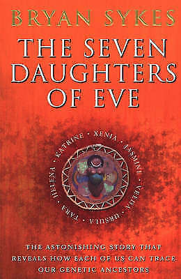 The Seven Daughters Of Eve, Sykes, Bryan, Very Good Book