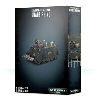 Chaos Space Marines Rhino Games Workshop Brand New 99120102092